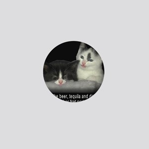 Frat Cat Mini Button