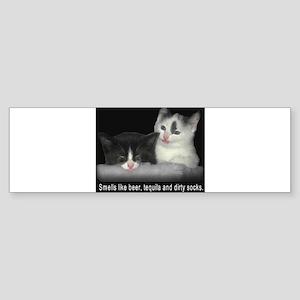 Frat Cat Sticker (Bumper)