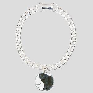 Guard Cat Charm Bracelet, One Charm