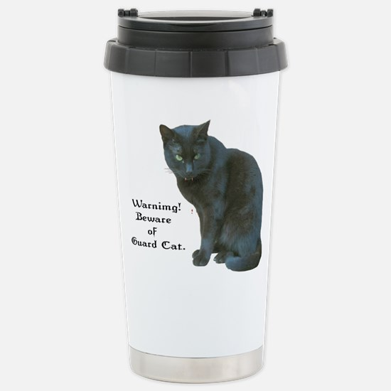 Guard Cat Stainless Steel Travel Mug