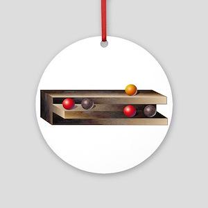 Optical Shelves Ornament (Round)