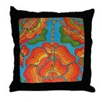 The Rosary Throw Pillow