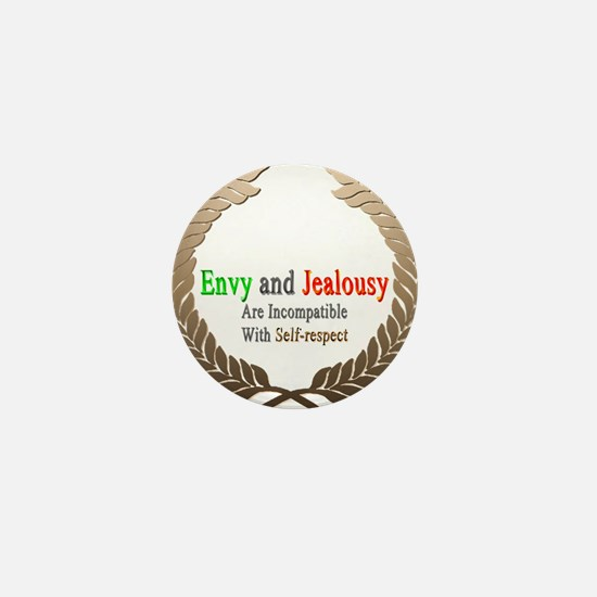 Envy and Jealousy Mini Button