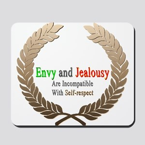 Envy and Jealousy Mousepad