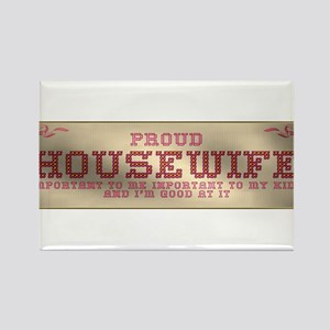 Proud Housewife Rectangle Magnet