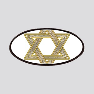 Gold Star of David Patches