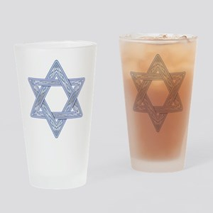 Star of David Drinking Glass