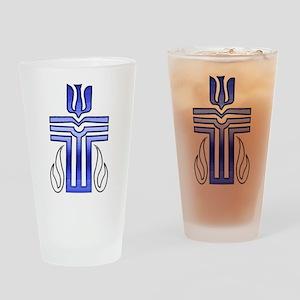 Presbyterian Cross Drinking Glass