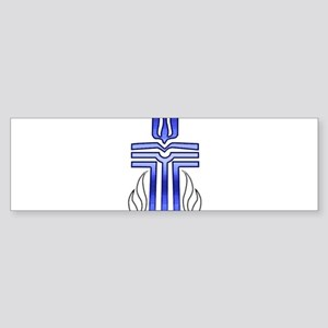 Presbyterian Cross Sticker (Bumper)