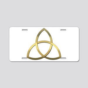 Trinity Aluminum License Plate