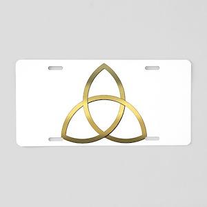 Trinity Aluminum License Plate