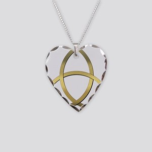 Trinity Necklace Heart Charm