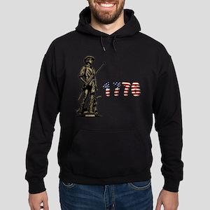 1776 Minuteman Hoodie (dark)