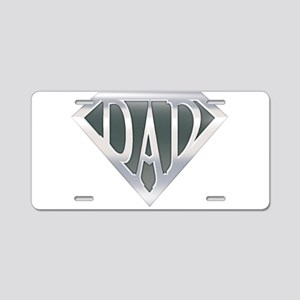 Super Dad Aluminum License Plate