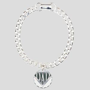 Super Dad Charm Bracelet, One Charm