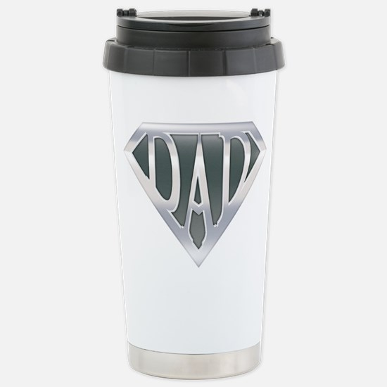Super Dad Stainless Steel Travel Mug