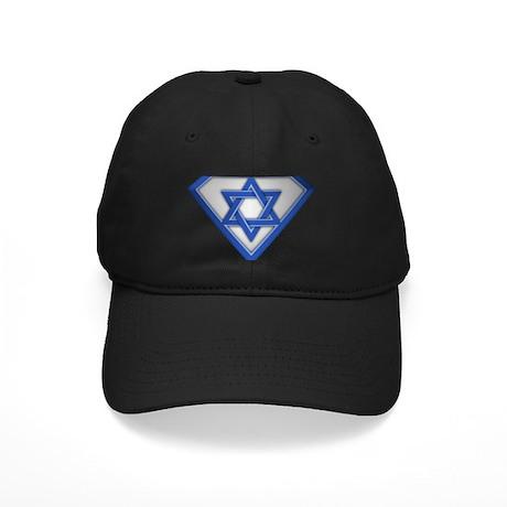 Super Israeli/Jew Black Cap