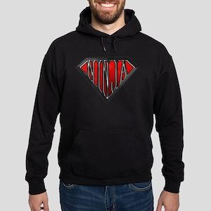 Super Ninja(Black) Hoodie (dark)