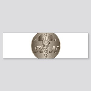 RN Caduceus Sticker (Bumper)