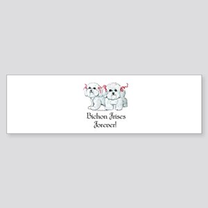 Bichon Frise Fun Sticker (Bumper)