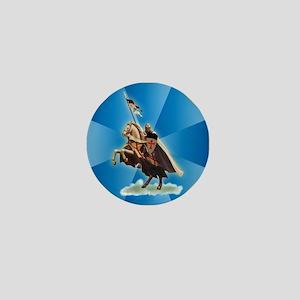 Knight Templar Mini Button