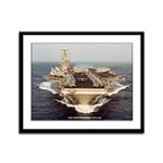 USS CONSTELLATION Framed Panel Print