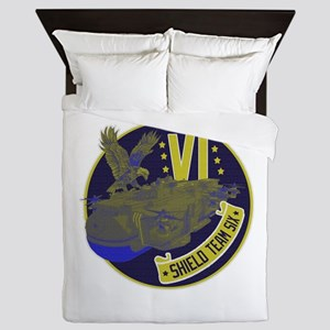 Shield Team Six Queen Duvet