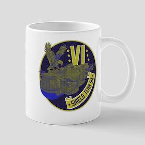 Shield Team Six Mug