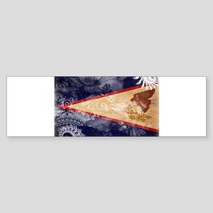 American Samoa Flag Sticker (Bumper)