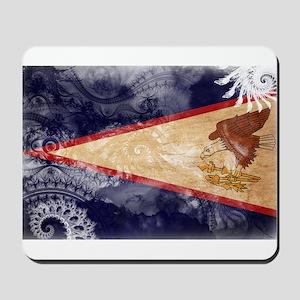 American Samoa Flag Mousepad