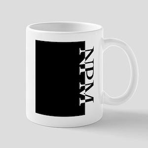 NPM Typography Mug