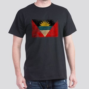 Antigua and Barbuda Flag Dark T-Shirt