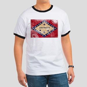 Arkansas Flag Ringer T