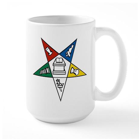 Order of the Eastern Star Large Mug