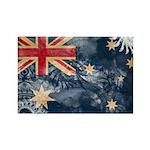 Australia Flag Rectangle Magnet (100 pack)