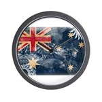 Australia Flag Wall Clock