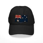 Australia Flag Black Cap