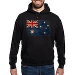 Australia Flag Hoodie (dark)