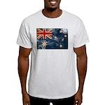 Australia Flag Light T-Shirt