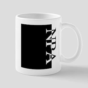 NPA Typography Mug