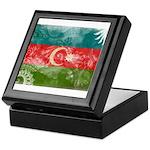 Azerbaijan Flag Keepsake Box