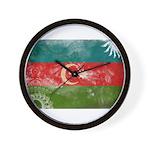 Azerbaijan Flag Wall Clock
