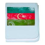 Azerbaijan Flag baby blanket