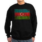 Azerbaijan Flag Sweatshirt (dark)