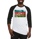 Azerbaijan Flag Baseball Jersey