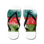 Azerbaijan Flag Flip Flops