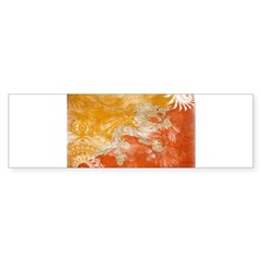 Bhutan Flag Sticker (Bumper 50 pk)