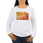 Bhutan Flag Women's Long Sleeve T-Shirt