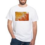 Bhutan Flag White T-Shirt