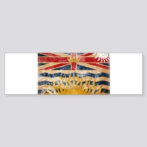 British Columbia Flag Sticker (Bumper)